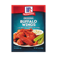 McCormick® Original Buffalo Wing Seasoning Mix