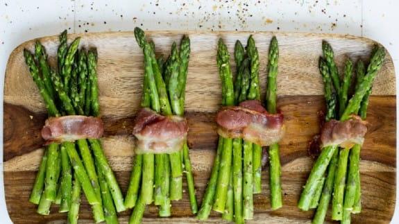 Asparagus-bacon
