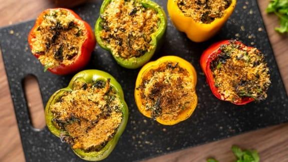 leftover-chicken-bell-pepper