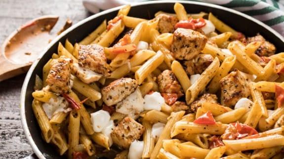 leftover-chicken-pasta