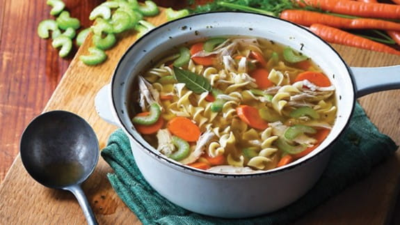 leftover-chicken-soup