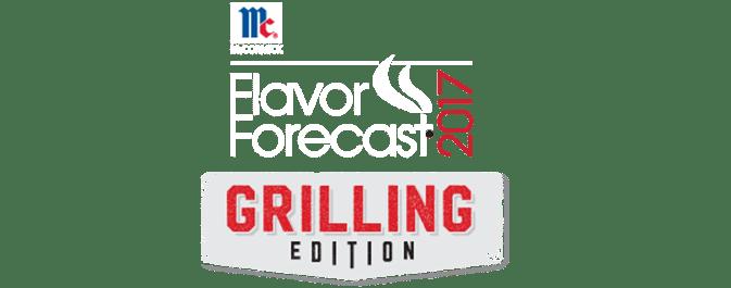 grilling flavor forecast 2017