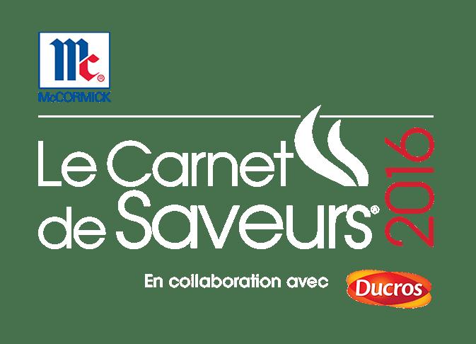 Le Carnet de Saveurs 2016