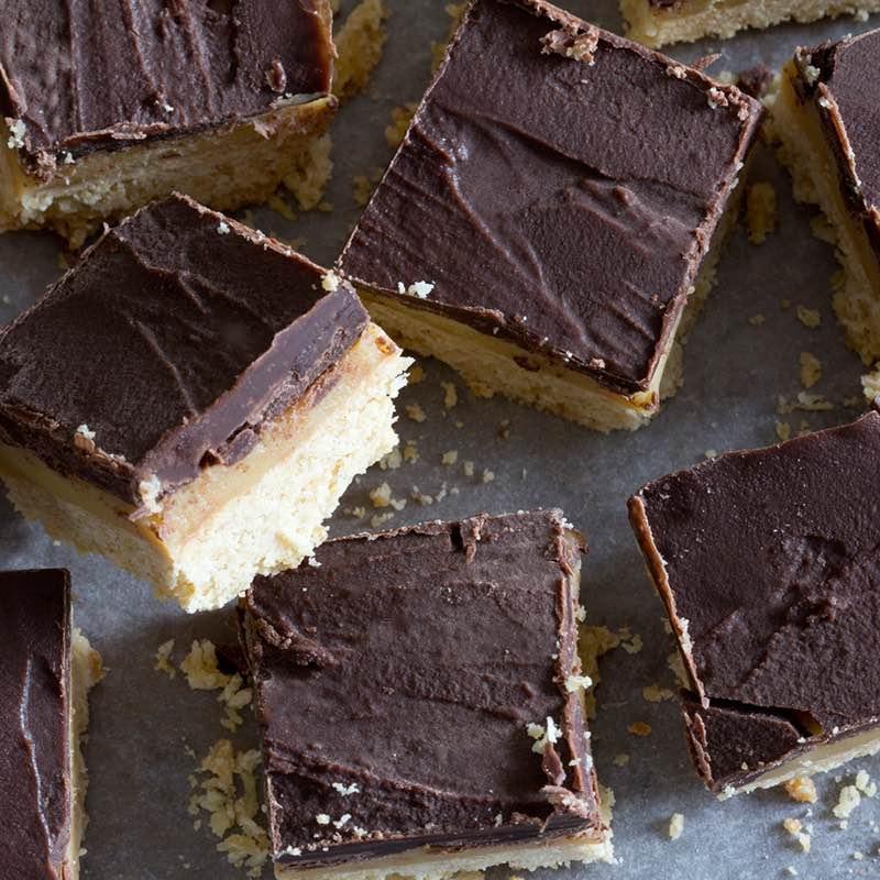 Choco-Vanille Vierkantjes