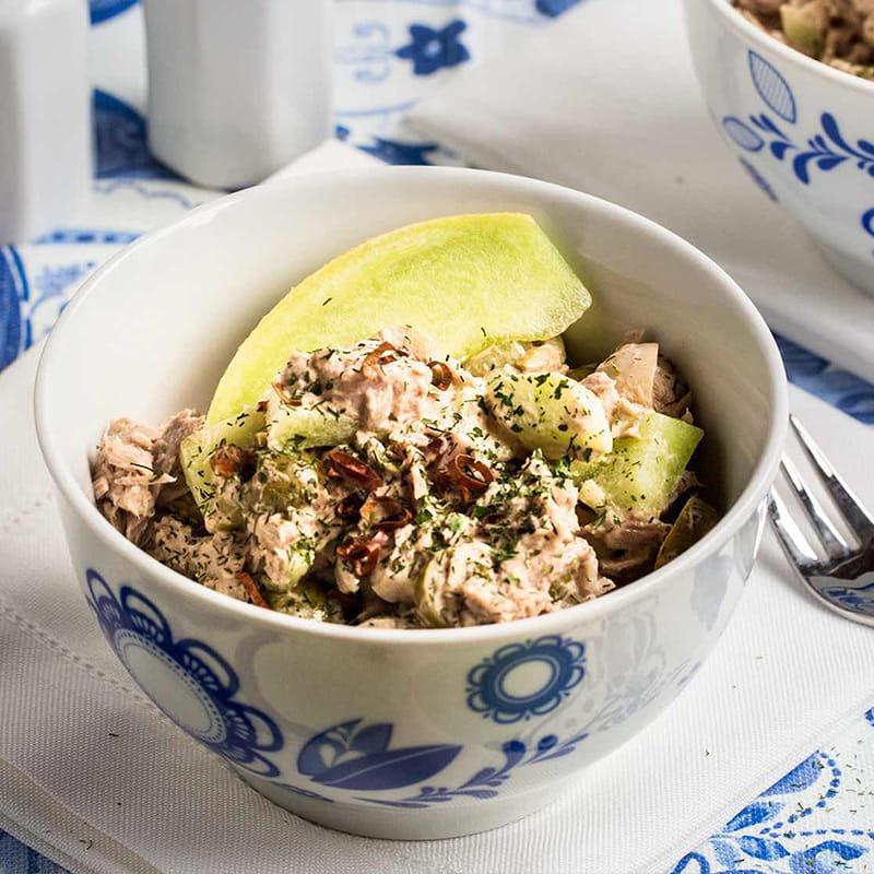 Hiszpanska Salatka z Tunczyka