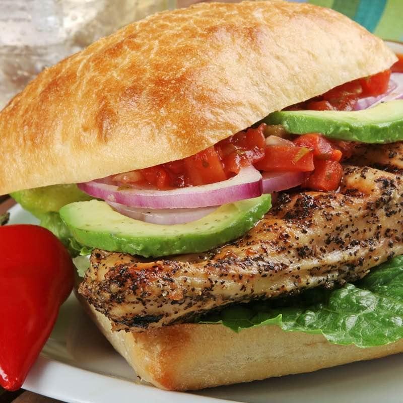 Ciabatta Kip sandwich