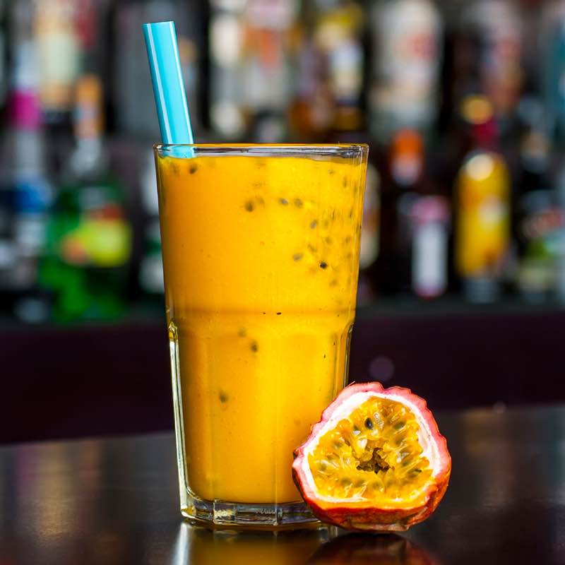 Mango smoothy met kardemom