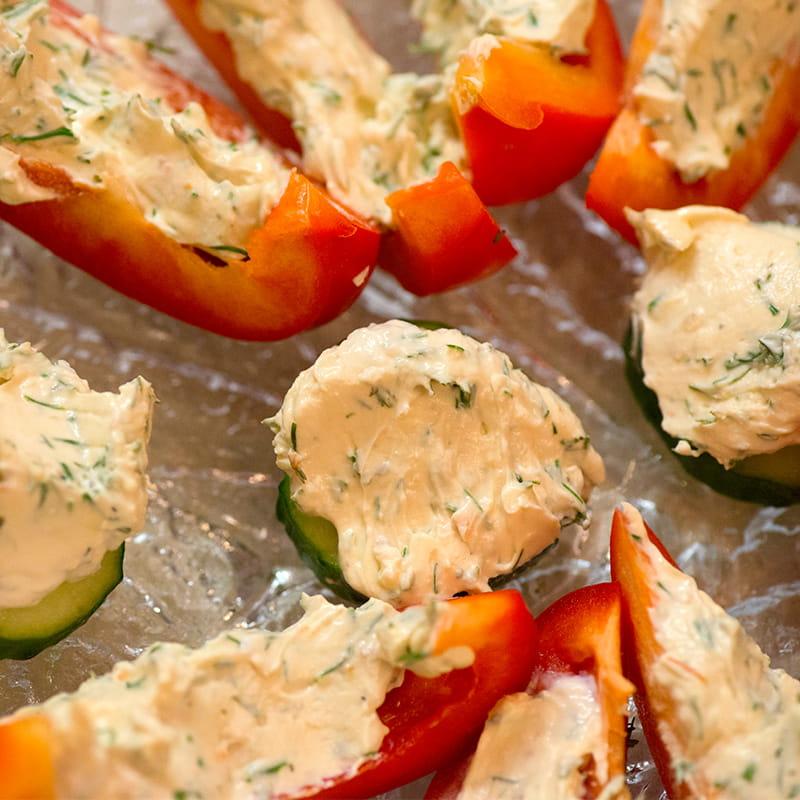 Rosbief gewikkeld in pancetta met worteltjes