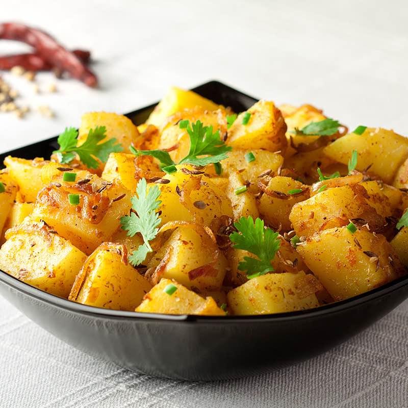 Spaanse aardappelsalade