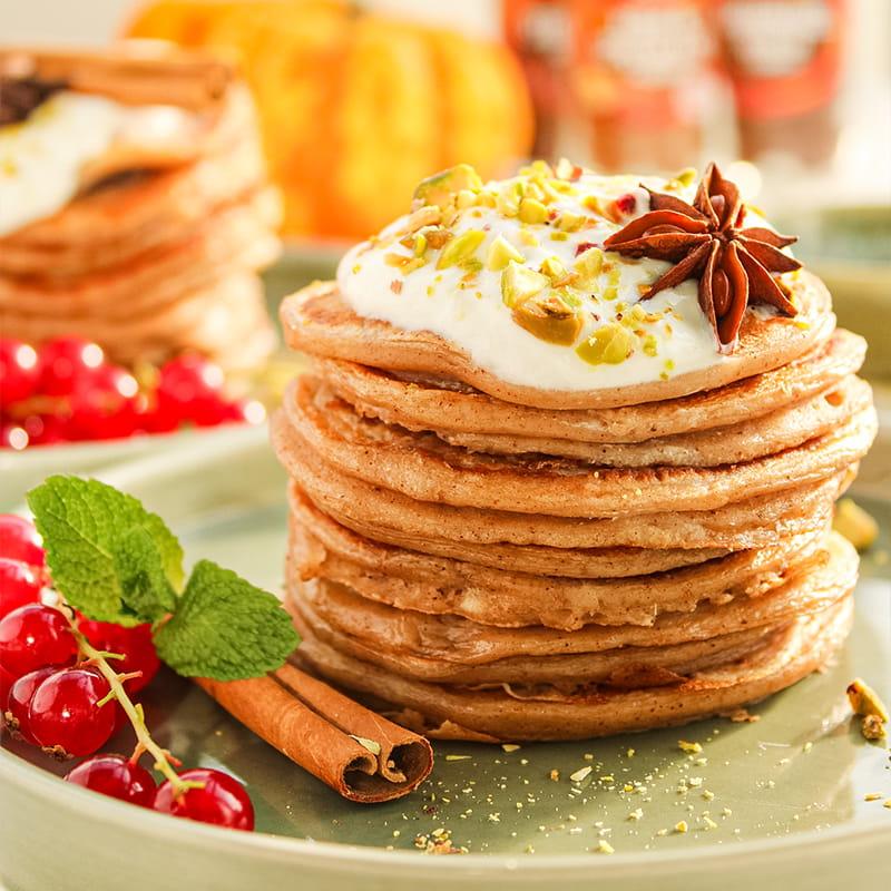 Kruidige pancakes door studentjekookt