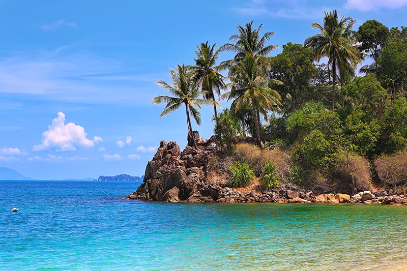 Unverdorbene Insel: Ko Lanta