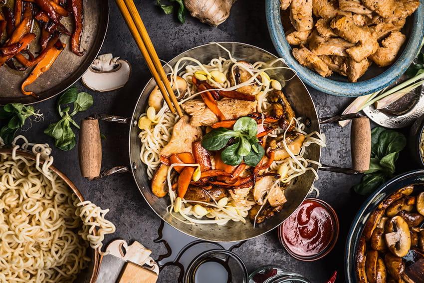 Investissez dans un bon wok
