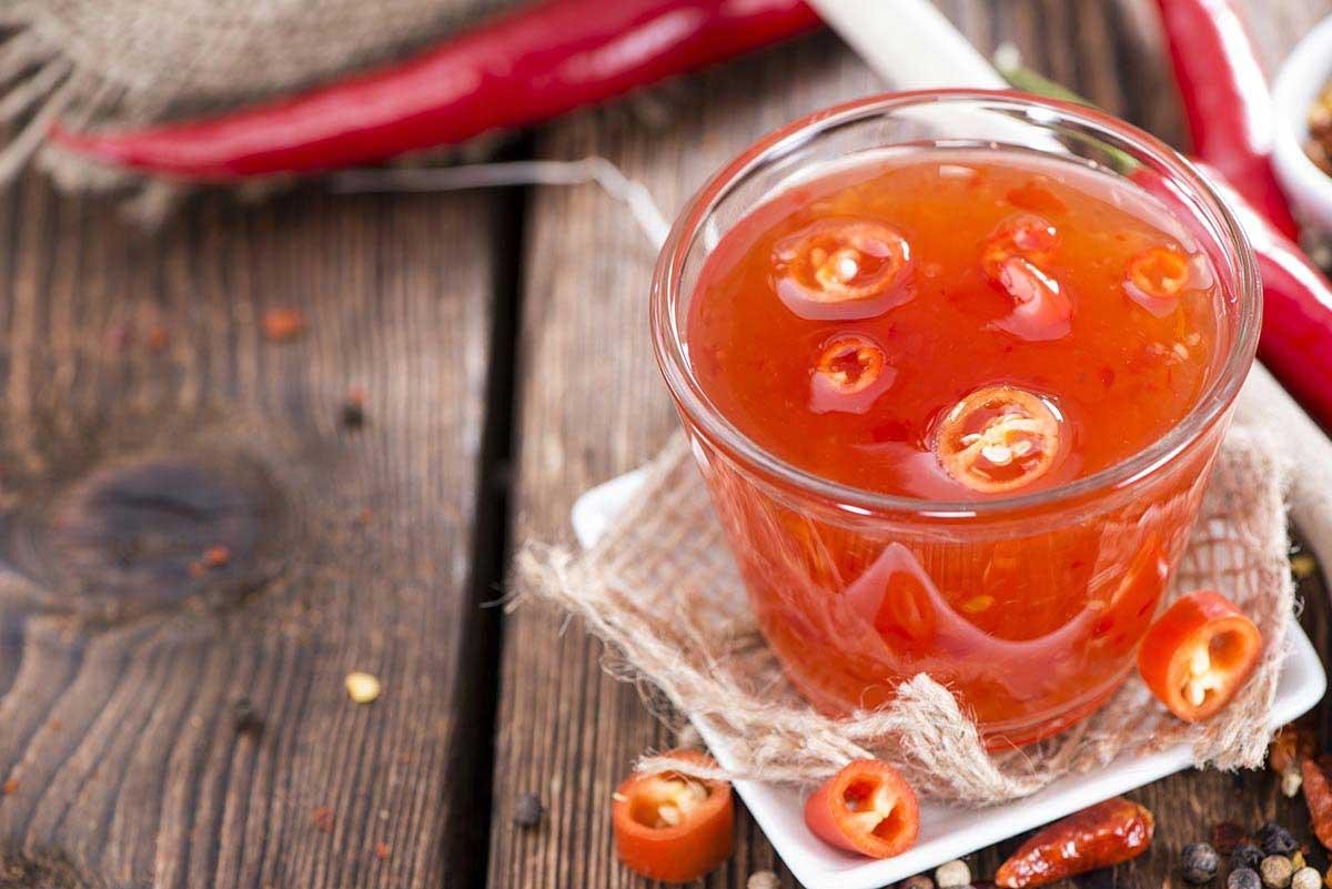 De délicieuses sauces piquantes
