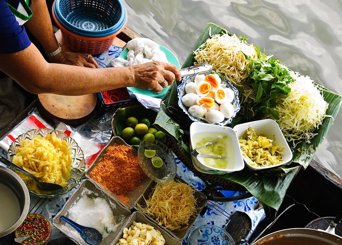 Recettes rapide : Les classiques de la cuisine thailandaise