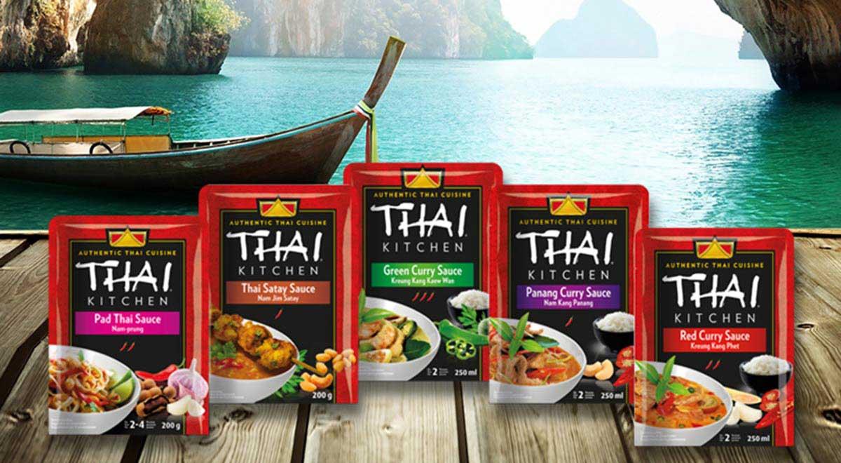 Thai Kochsaucen