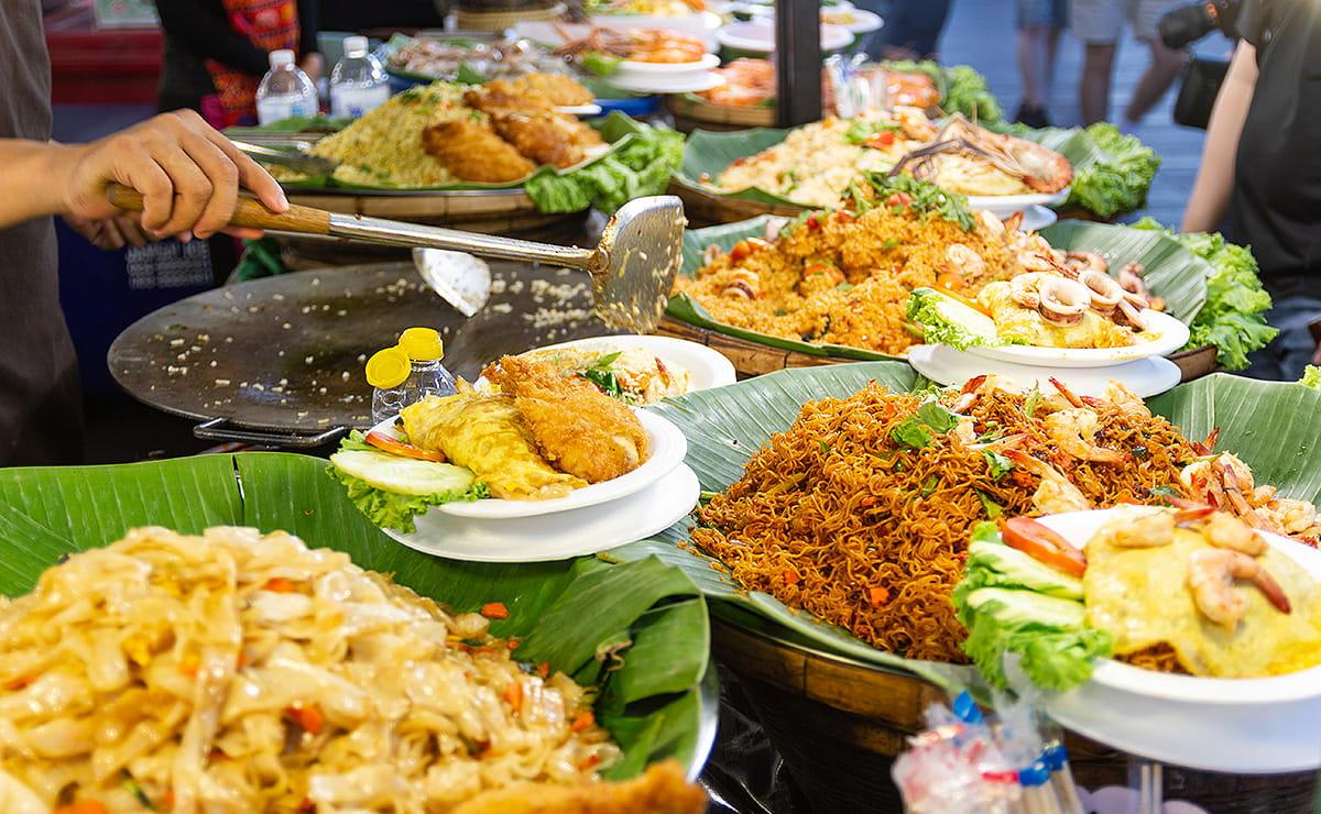 Einfaches, köstliches Thai Street Food zuhause kochen
