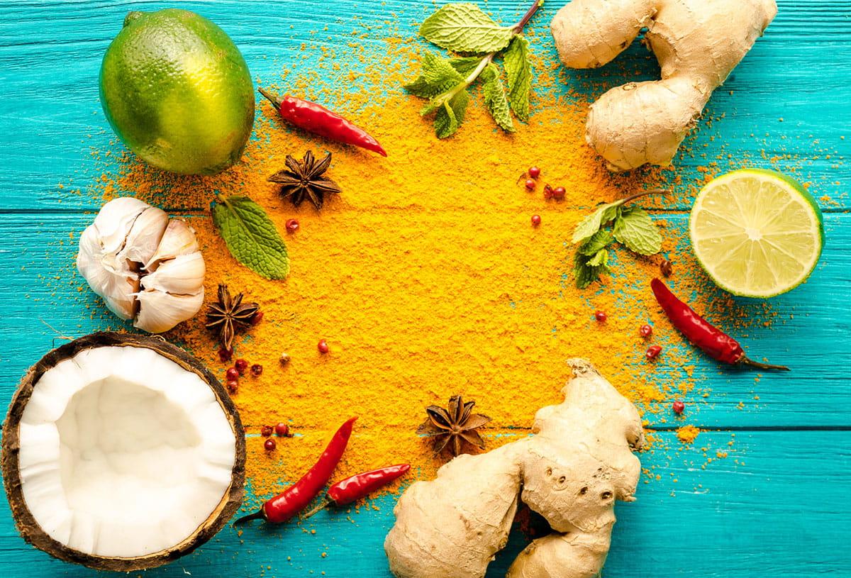 Die drei gesündesten Thai-Zutaten