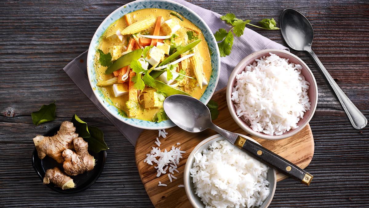 Recettes thaïlandaises végétariennes et véganes, faciles et rapides