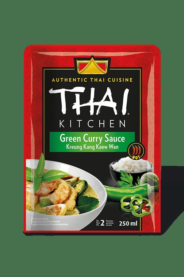 Grune Curry Sauce Kochsaucen Thai Kitchen