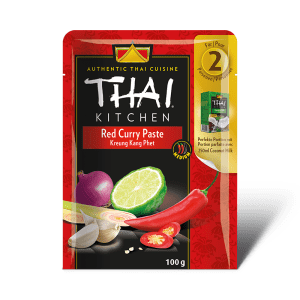Rote Curry Paste fuer zwei Pac