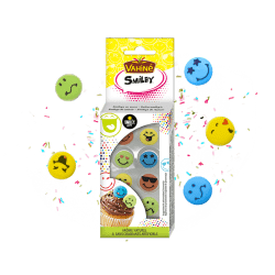 Décos en sucre Smiley®