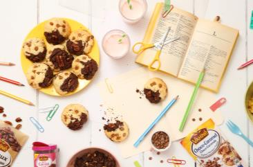 Brookies aux pépites choco-caramel