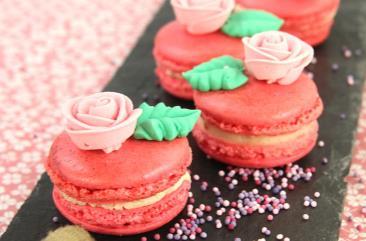 macaron_rose_et_chocolat_blanc