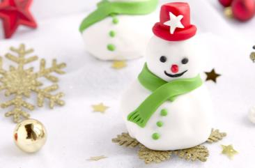 Religieuze sneeuwman