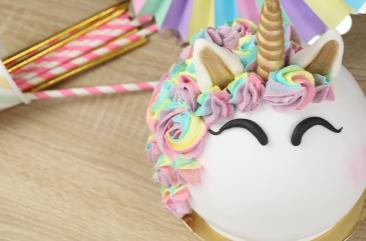 Gâteau licorne XXL