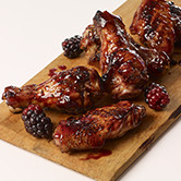 PEPPERED STICKY SWEET WINGS